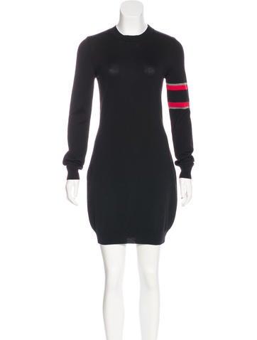 Balenciaga Virgin Wool Sweater Dress None