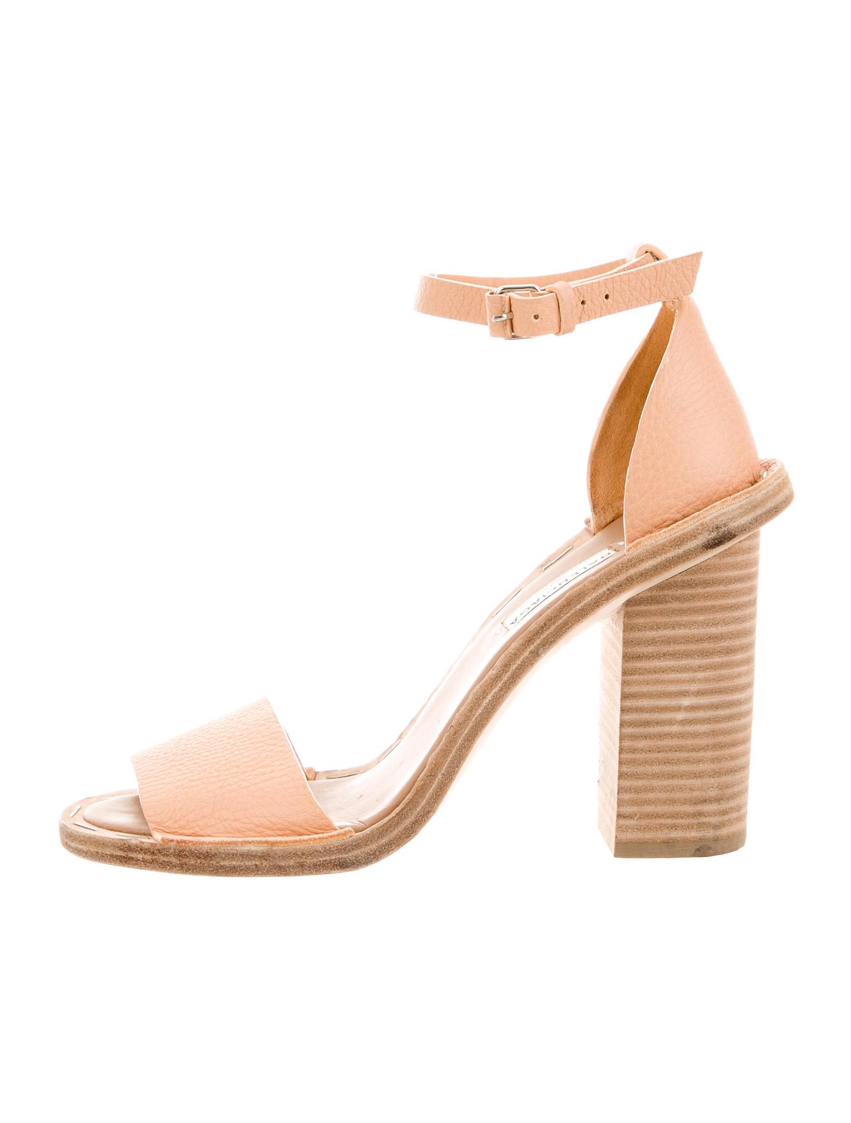 f583d74bbda Balenciaga Arena Ankle Strap Sandals - Shoes - BAL57991