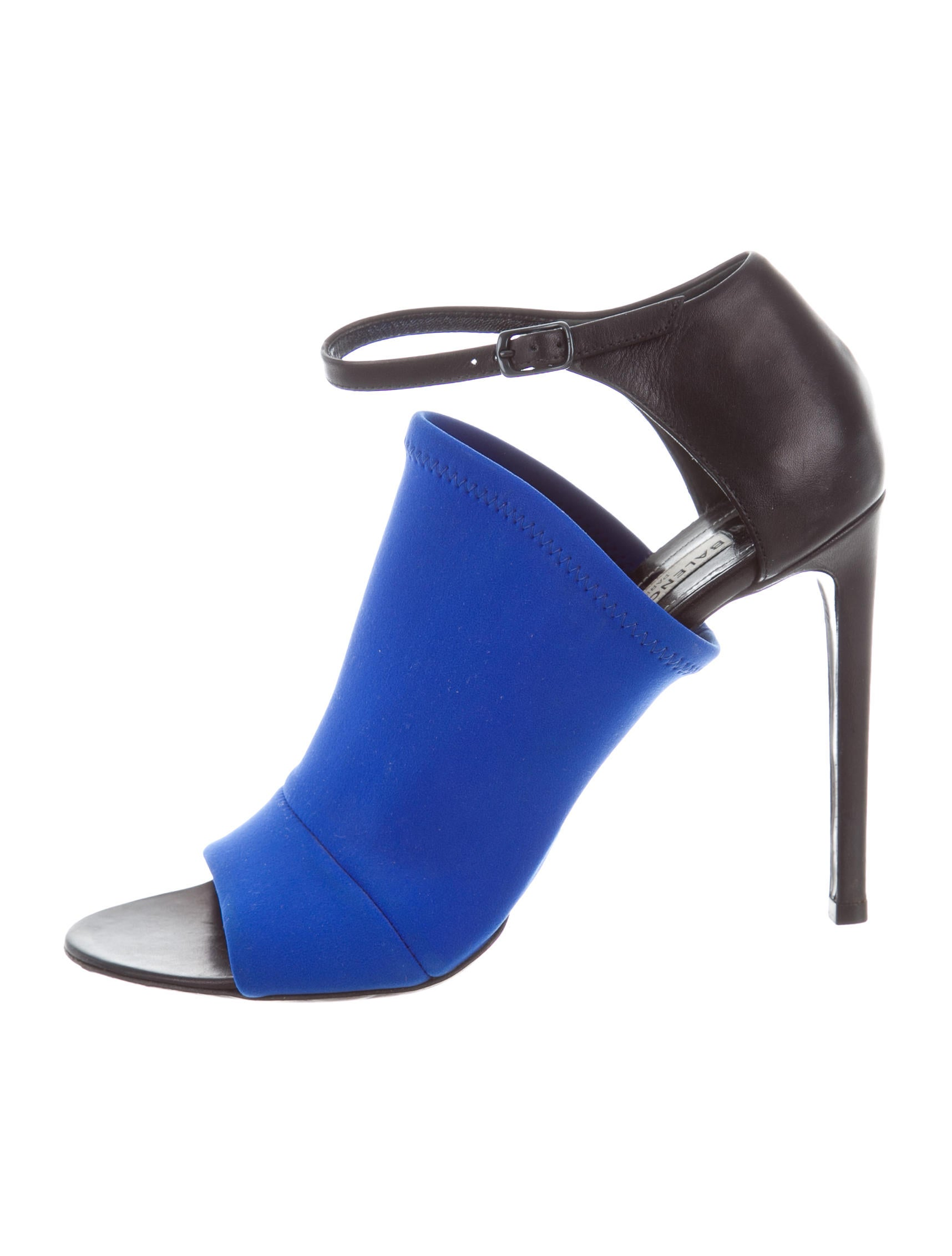 Balenciaga Neoprene Ankle-Strap Sandals free shipping many kinds of cheapest price cheap price wide range of cheap online buy online with paypal outlet extremely XlRgJ