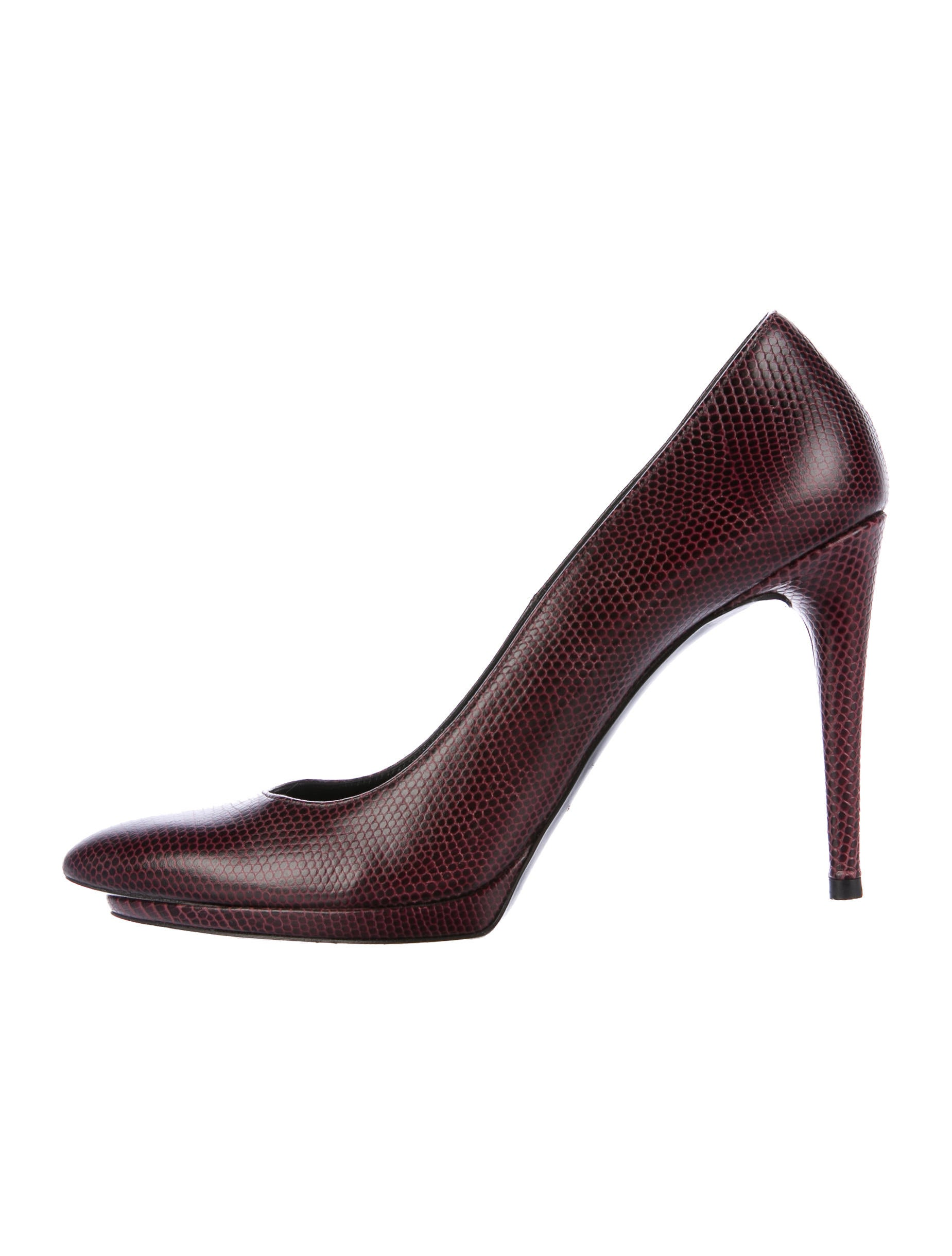 Balenciaga Embossed Leather Pointed-Toe Pumps looking for online sneakernews for sale sale online sale purchase outlet really pjm430