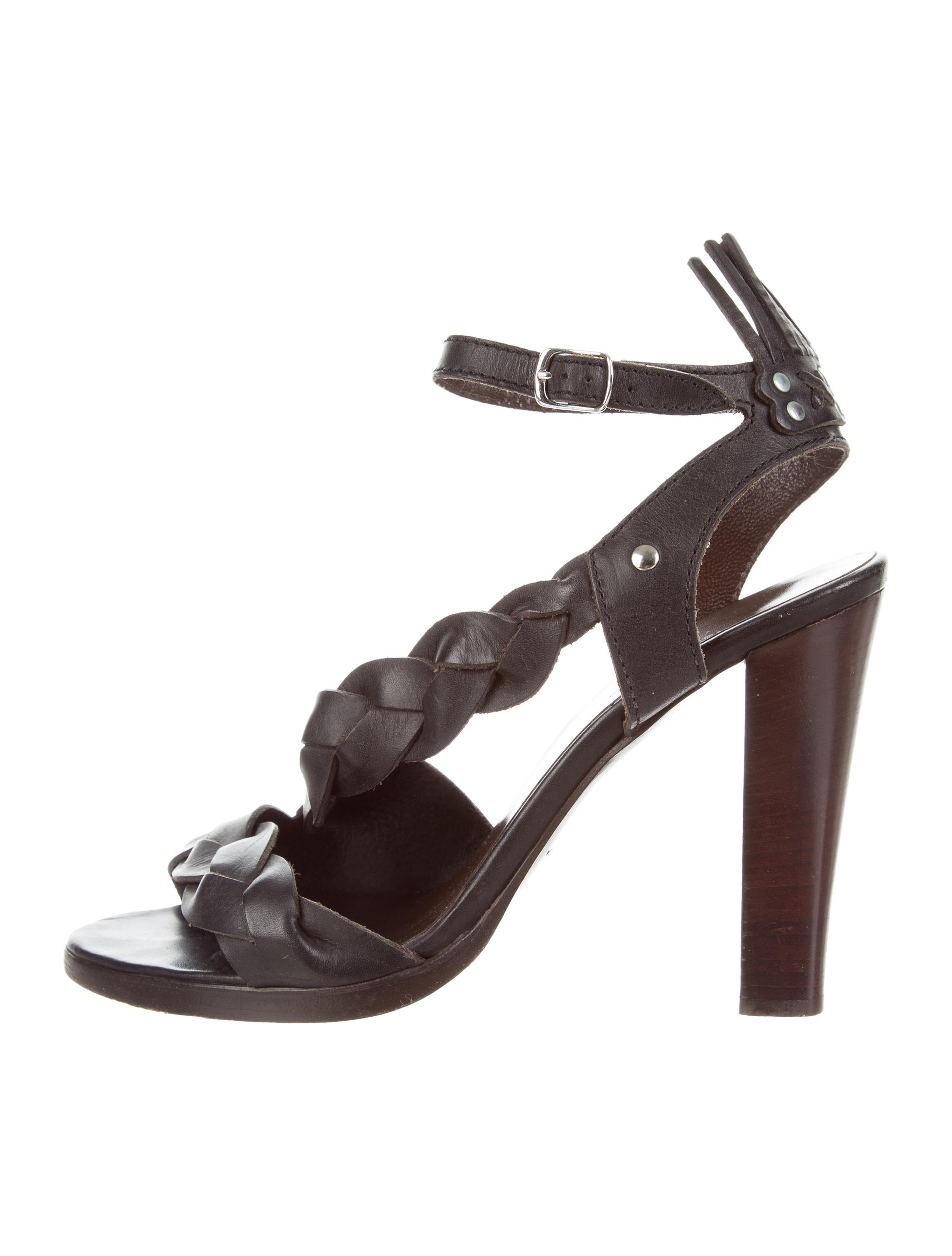 2014 newest for sale geniue stockist online Balenciaga Braided Leather Sandals buy cheap buy 3ni8iLB4Si