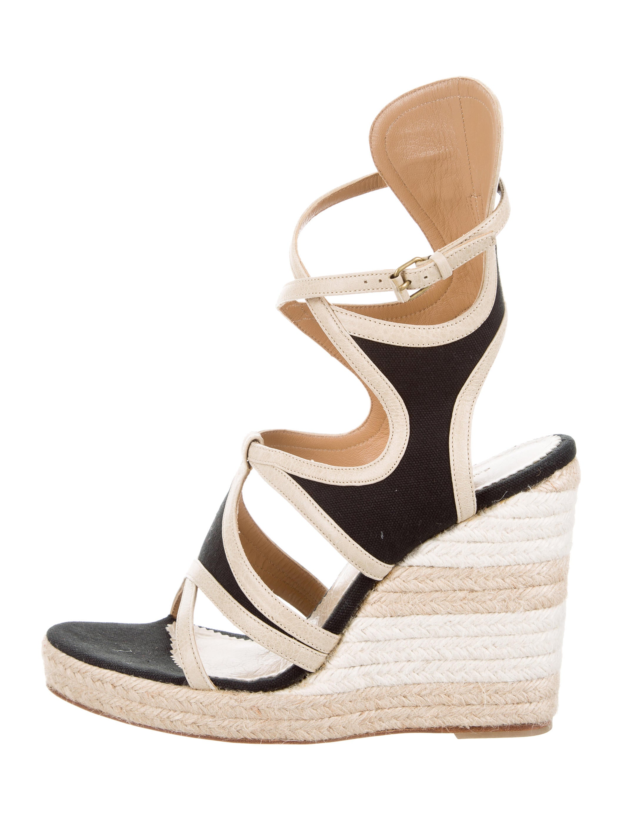 free shipping genuine Balenciaga Caged Espadrille Wedges 100% original sale online buy cheap manchester great sale browse for sale nicekicks EsULaA0
