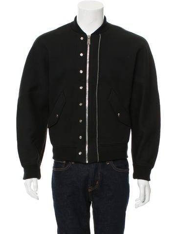 Balenciaga Neoprene Bomber Jacket w/ Tags None