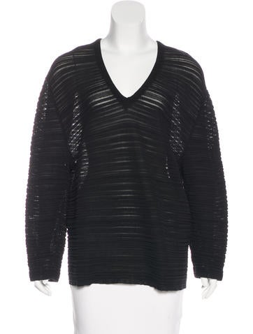 Balenciaga Knit Oversize Top None