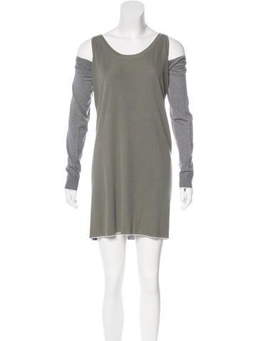 Balenciaga Knit Mini Dress None