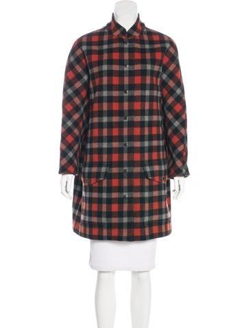 Balenciaga Oversize Wool Coat None