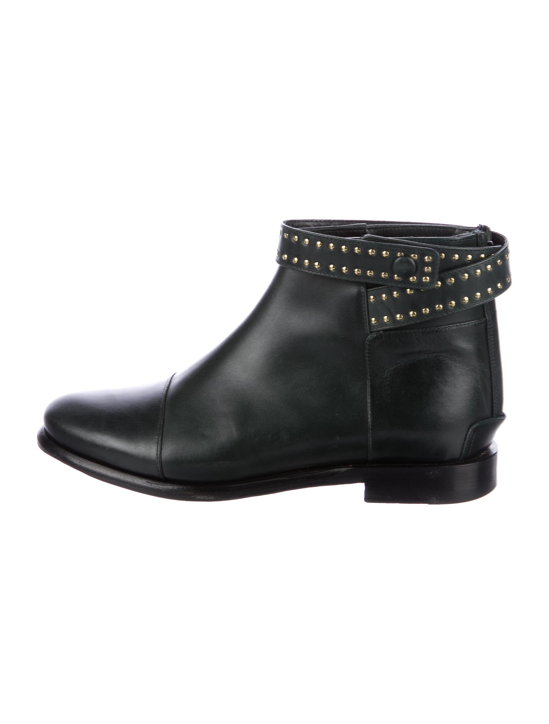 outlet eastbay Balenciaga Leather Studded Booties exclusive Zpg6Cxu46Z