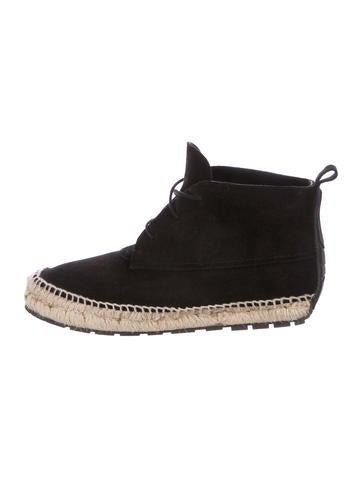 Balenciaga Suede Ankle Boots None