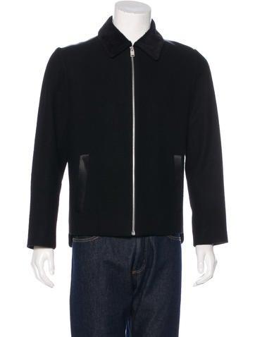 Balenciaga Alpaca-Trimmed Wool Jacket None