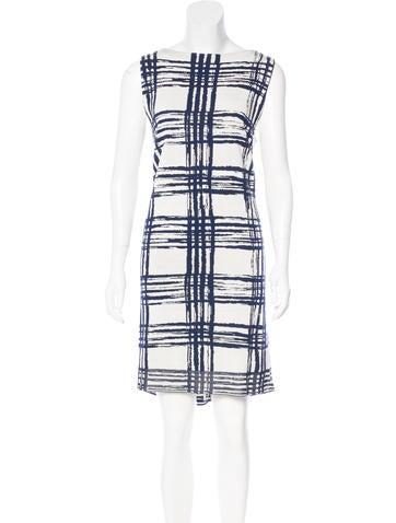 Balenciaga Silk Patterned Dress None