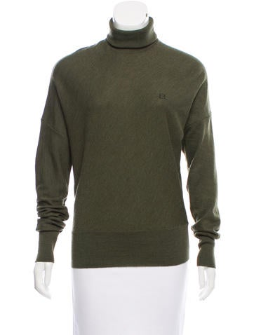 Balenciaga Wool Turtleneck Top None
