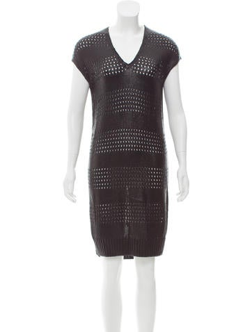 Balenciaga Knee-Length Knit Dress None