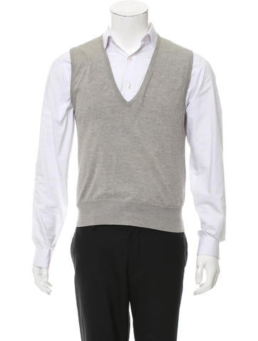 Balenciaga V-Neck Sweater Vest None