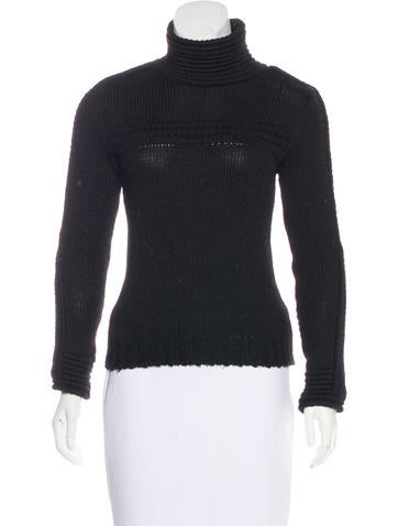 Balenciaga Wool Knit Turtleneck None