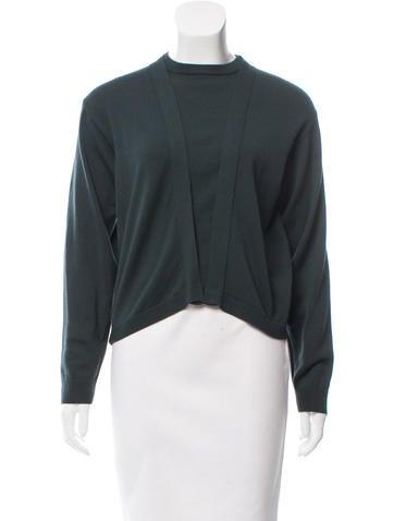 Balenciaga Wool Crew Neck Sweater None