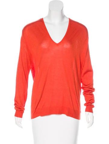 Balenciaga Silk & Cashmere Knit Sweater w/ Tags None