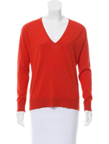 Balenciaga V-Neck Knit Sweater None