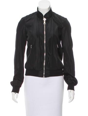 Balenciaga Lightweight Zip-Up Jacket None