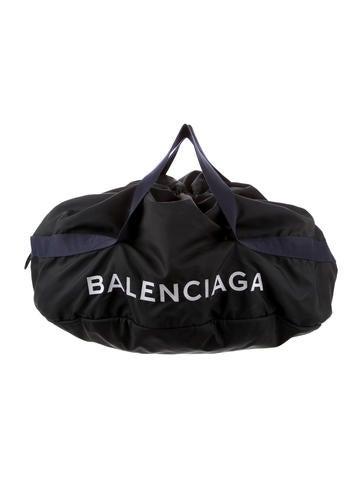 Balenciaga 2018 Logo Duffle Bag None