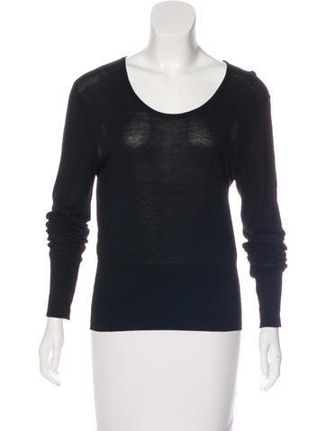 Balenciaga Long Sleeve Knit Top None
