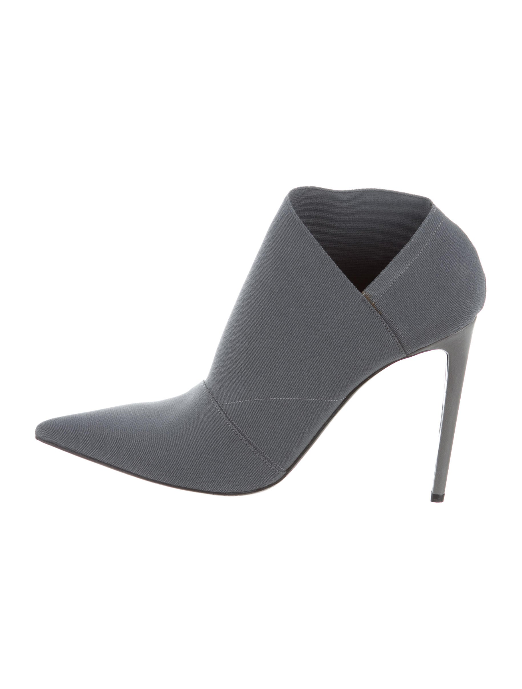 2014 newest cheap online amazon for sale Balenciaga Woven Pointed-Toe Booties tP035wT
