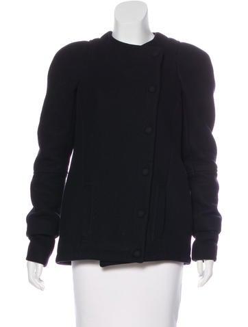 Balenciaga Wool Long Sleeve Jacket None