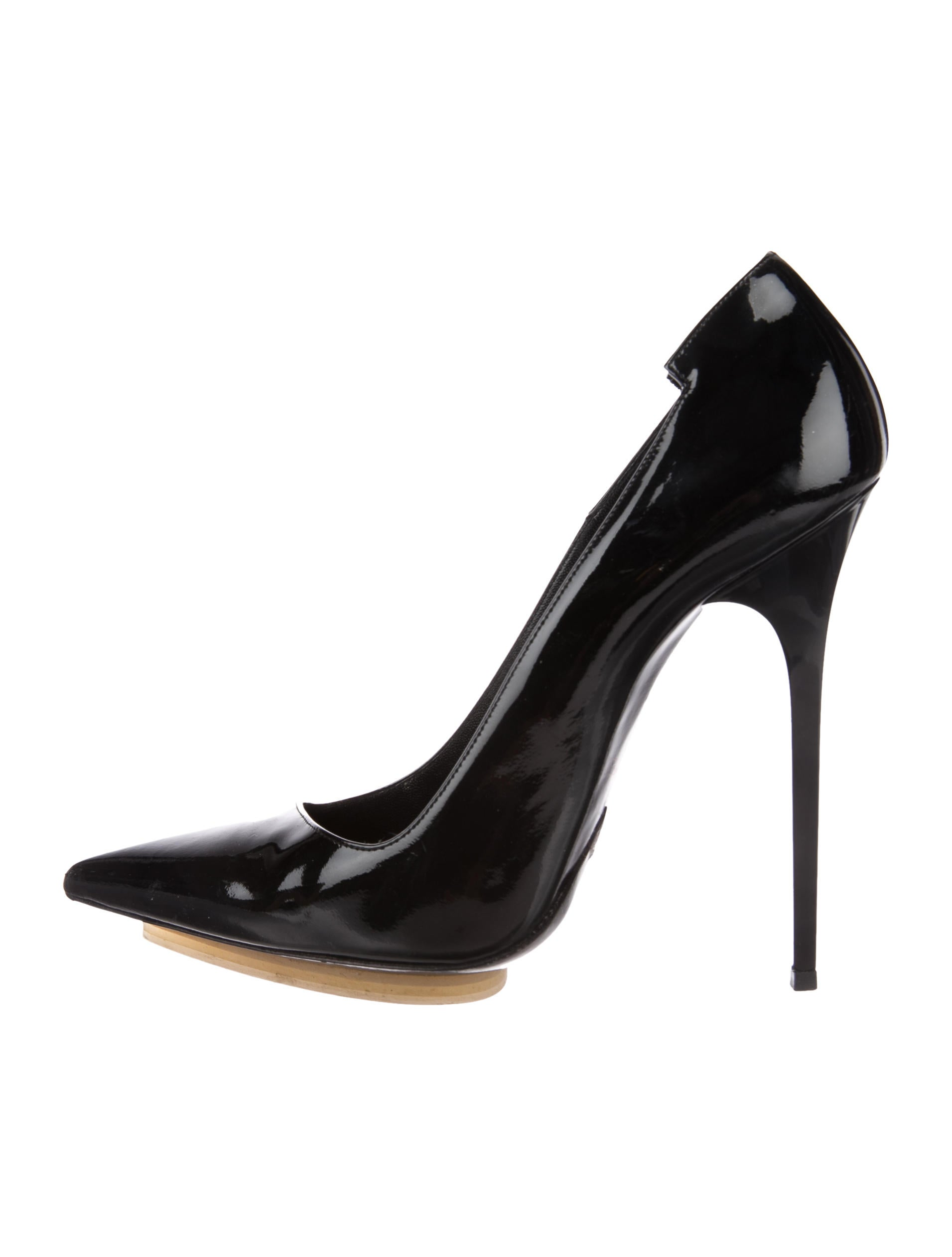 official discount top quality Balenciaga Patent Leather Pointed-Toe Pumps clearance 100% original rJJ4OHlk