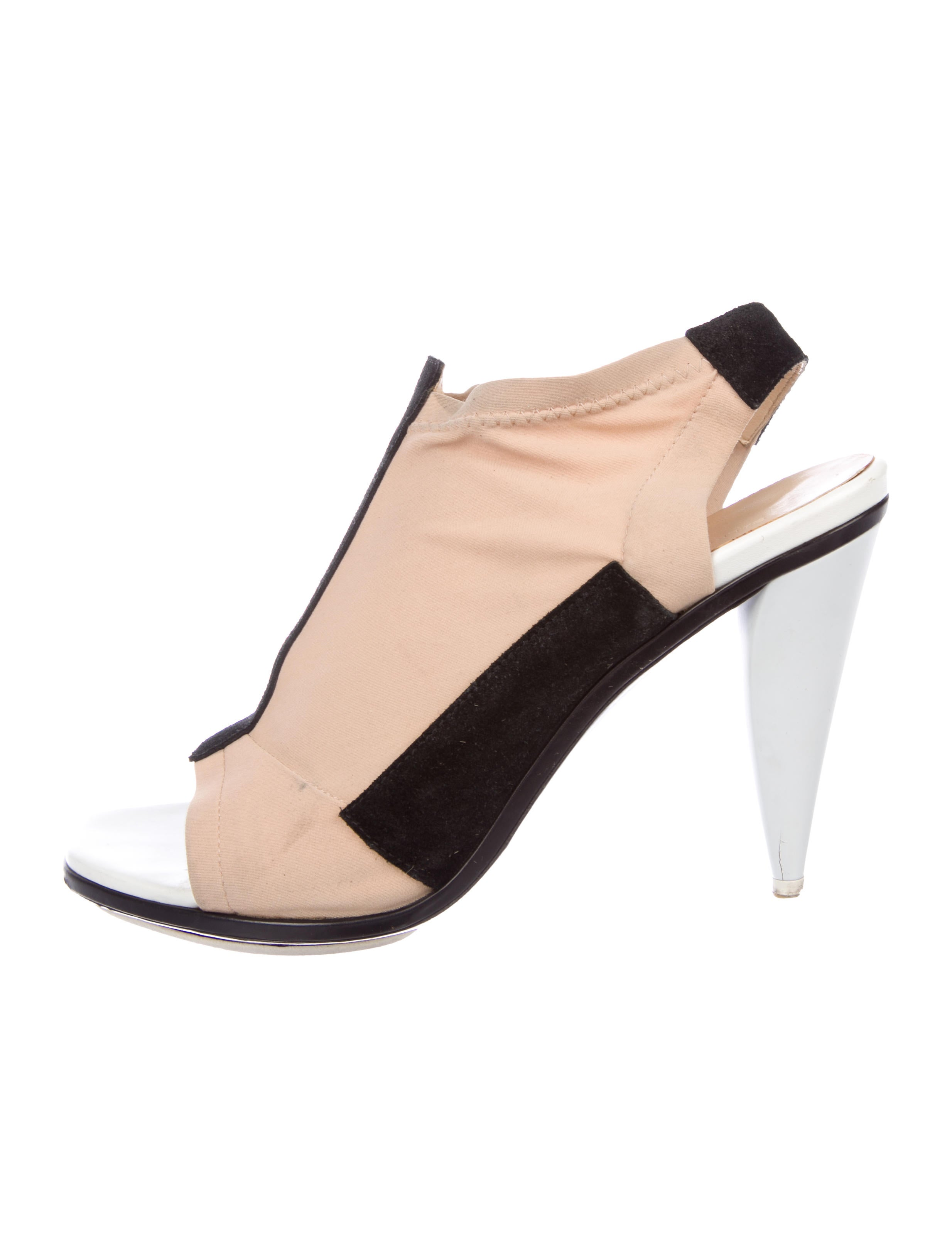 outlet pay with paypal buy cheap reliable Balenciaga Neoprene Slingback Booties OSkZddVf