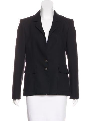 Balenciaga Lightweight Wool Blazer None