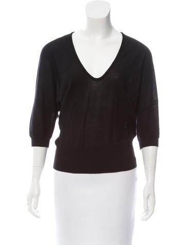 Balenciaga Wool Lightweight Sweater None