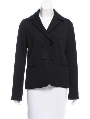 Balenciaga Double-Breasted Wool Jacket None