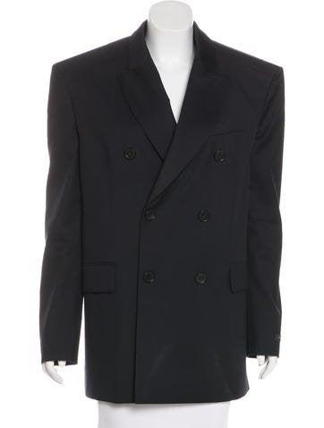 Balenciaga 2017 Wool Blazer None