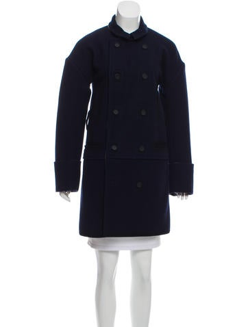 Balenciaga Knee-Length Wool Coat None