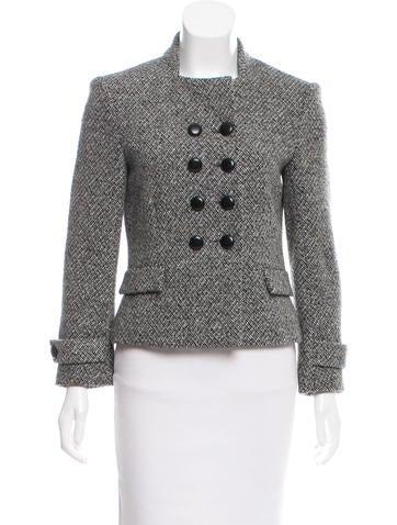 Balenciaga Wool Tweed Jacket None