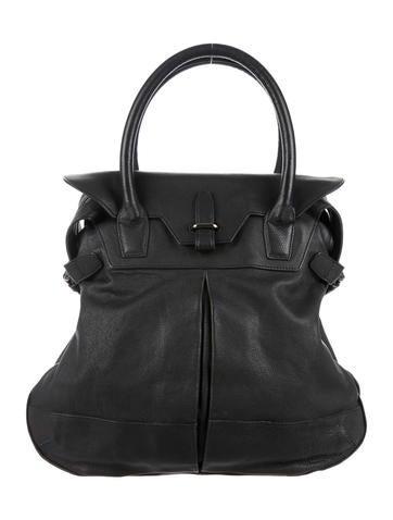 Balenciaga Grained Leather Bag None