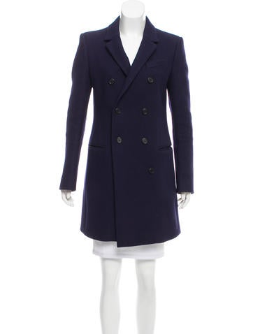 Balenciaga Structured Wool Coat None