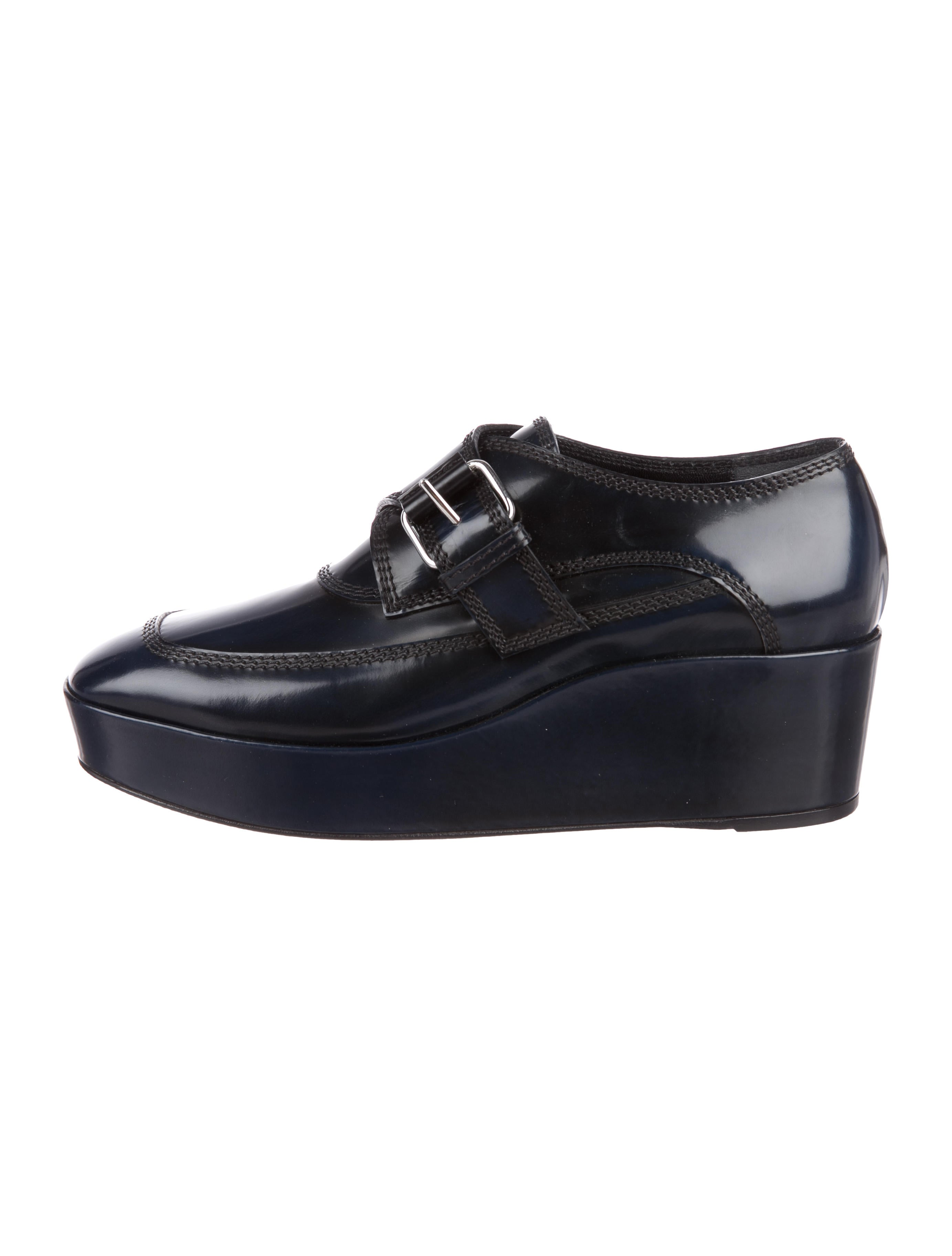 low price for sale discount top quality Balenciaga Leather Platform Oxfords J8wFQ