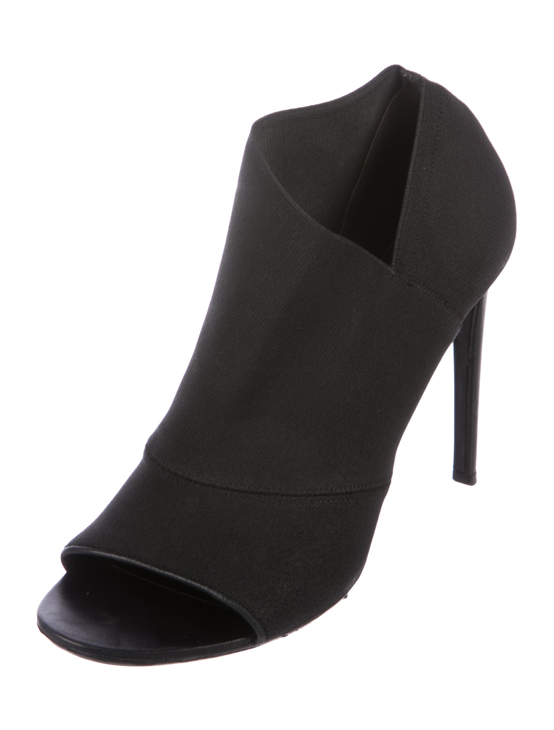 fast delivery for sale buy cheap professional Balenciaga Elasticized Peep-Toe Ankle Boots where can i order discount for nice FSZIv1Ag