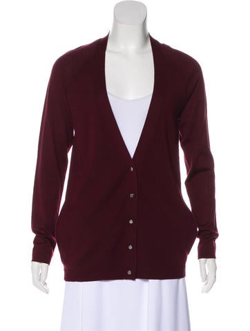 Balenciaga Wool Knit Cardigan None