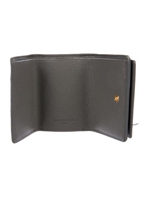 b2014b95a82 Balenciaga 2017 Classic Metallic Edge Mini Wallet - Accessories ...