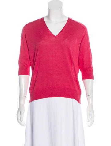 Balenciaga Lightweight Knit Sweater None
