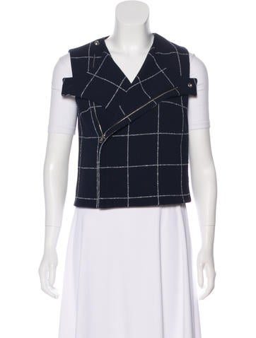 Balenciaga Wool Printed Vest None