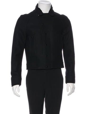 Balenciaga Wool & Angora Jacket None