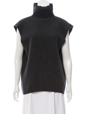 Balenciaga Wool Mock Neck Top None