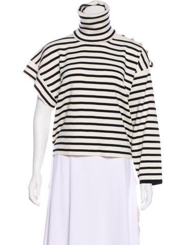 Balenciaga 2018 Asymmetrical Sweater None