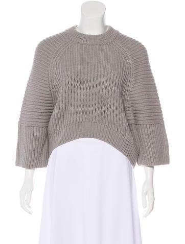 Balenciaga Wool & Alpaca-Blend Sweater w/ Tags None