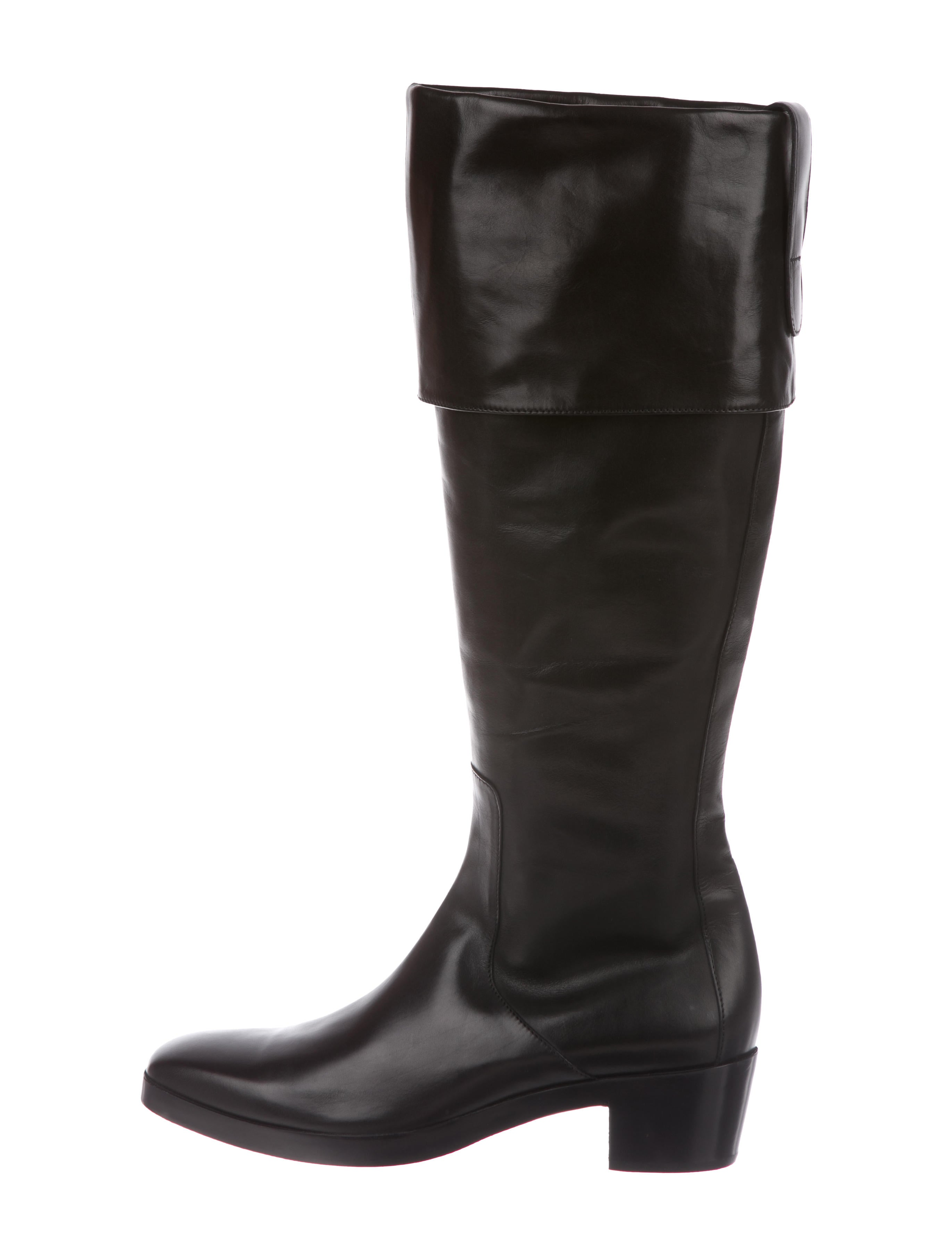 Balenciaga Leather Knee-High Boots w/ Tags new arrival for sale discount sast wRdBHSp