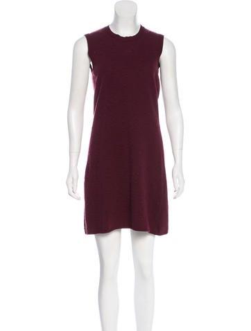 Balenciaga Sleeveless Knit Dress None