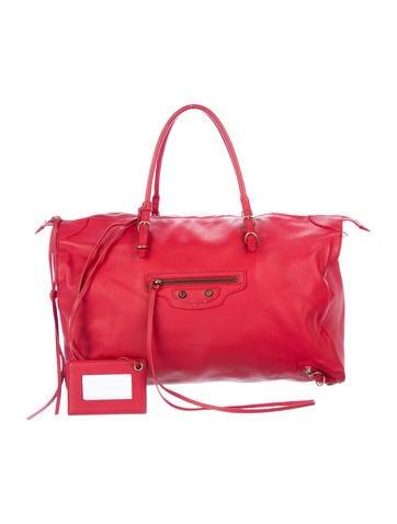 Balenciaga Papier Bolster Bag None