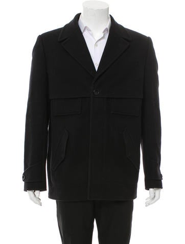 Balenciaga Wool Utility Jacket None